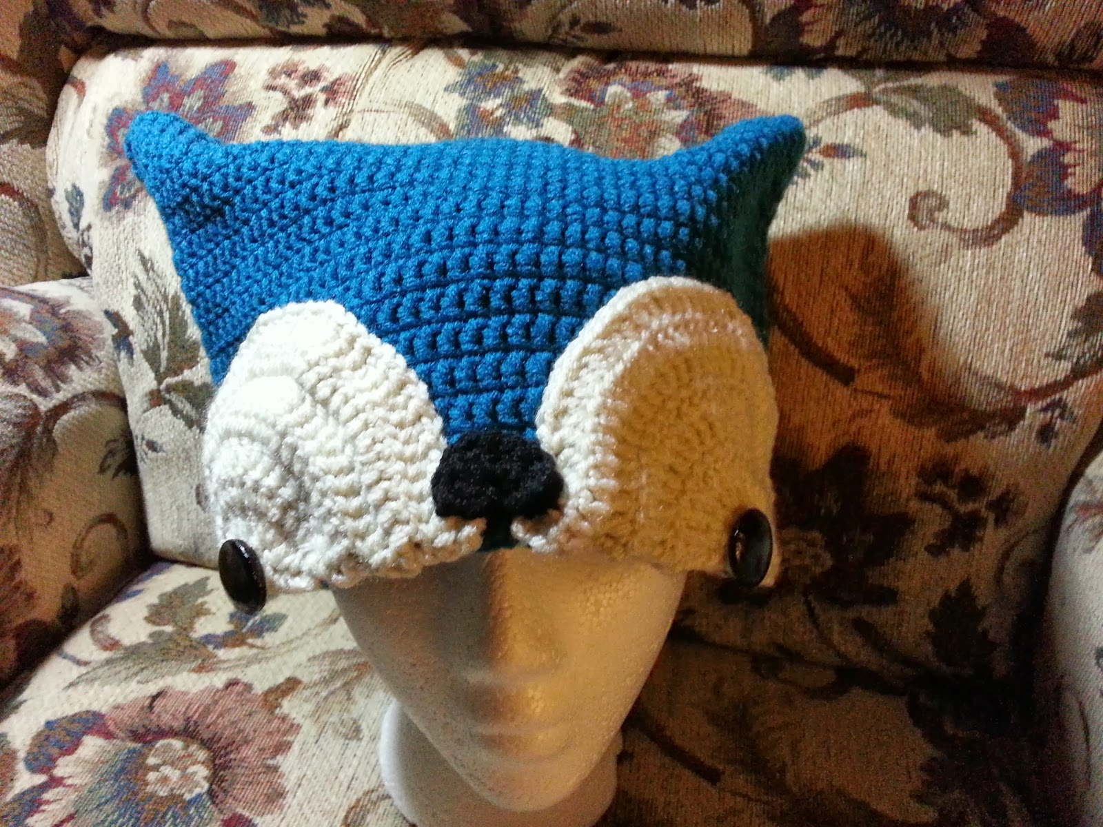 Yarncraft By Susan Foxy Crochet Hat Free Pattern