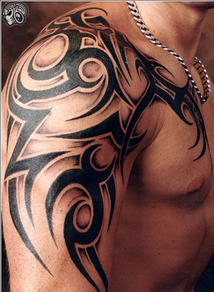 Design Ideas   Home on Tribal Tattoo Designs For Men   Deathtimerinc