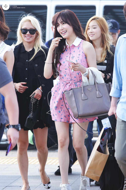 My K-Pop Database: 130526 SNSD Airport Fashion