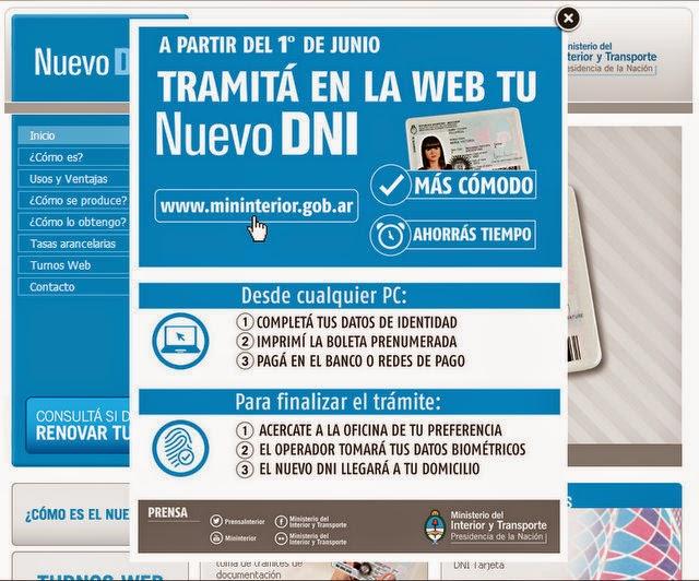 Qu se necesita para tramitar el dni por internet for Pagina del ministerio del interior