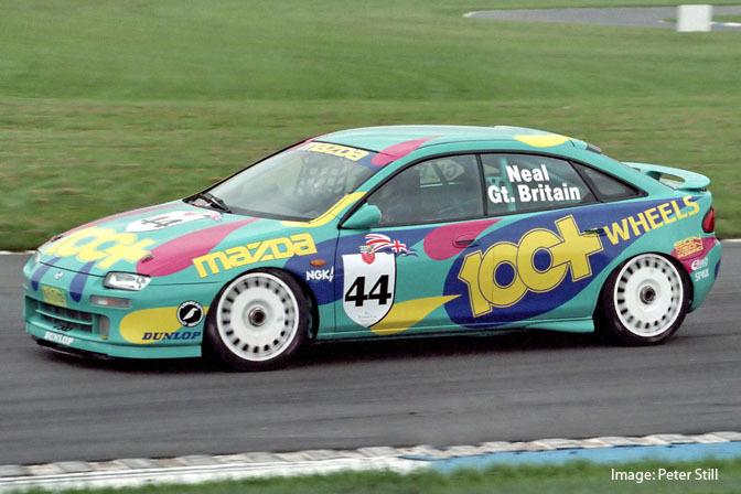 Mazda 323F BA, Lantis, sportowy samochód, wyścigi, japońska motoryzacja