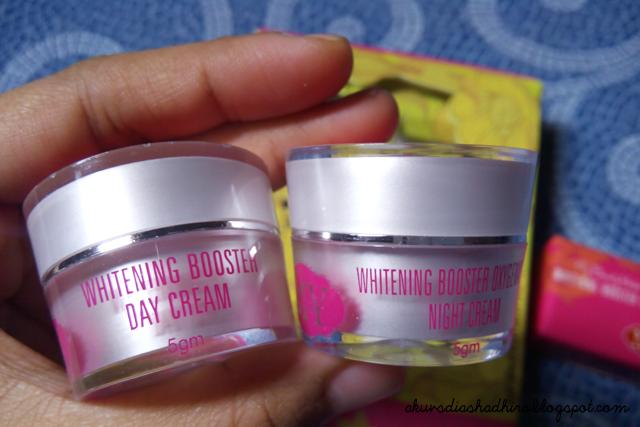MBH Whitening Booster Cream