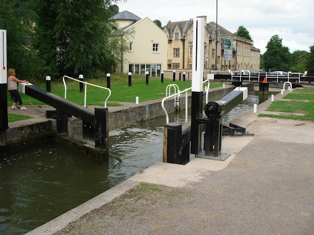 Bath Deep Lock, canal, Somerset