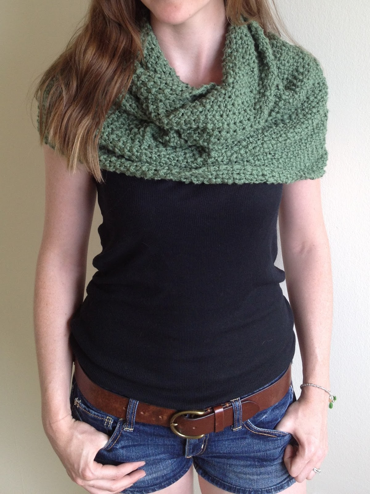 ALTERNATIVE WAY TO WEAR INFINITY SCARF