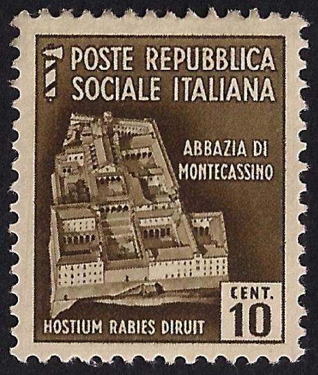 Cultura filatelica francobollo della repubblica sociale for Home page repubblica