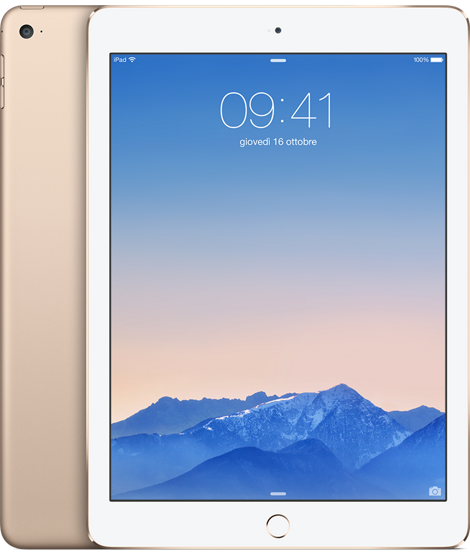 APPLE PRESENTA IL NUOVO iPAD AIR 2