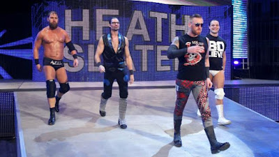 Heath Slater Curtis Axel Bo Dallas Adam Rose RAW Faction