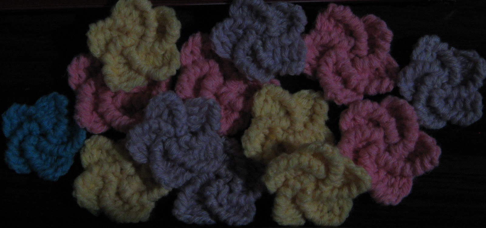 Spiral Crochet Flower Pattern Free : The Crochet Charm: Tiny spiral flower with 5 petals