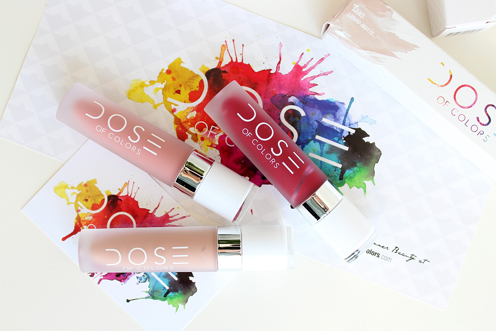 Dose Of Colors Liquid Lipstick Review and Swatches
