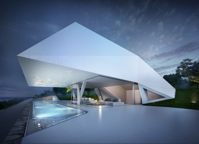 Villa F by Hornung & Jacobi (via Nest o Pearls)