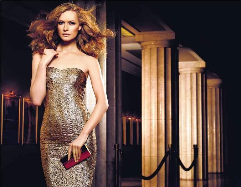 Little Gold Dress by Avon Fragrance, Little Gold Dress, Avon Fragrance, Avon, Fragrance, model