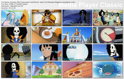 Download Film One Piece Episode 384 (Perjuangan Sulit Brook! Jalan Sulit Menjadi Anggota yang Benar) Bahasa Indonesia