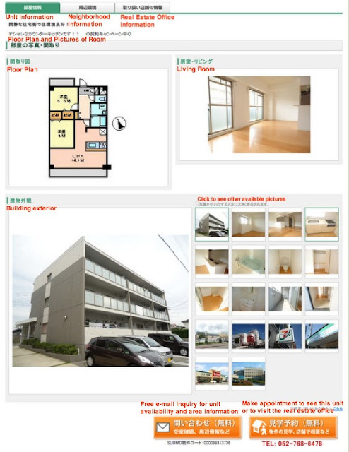 Japan, Japanese, apartment, listings, search
