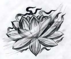 tattoo de flor de lotus