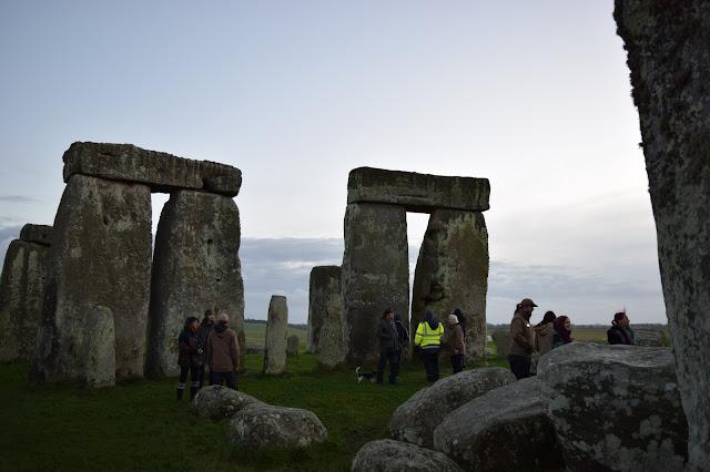 inside stonehenge