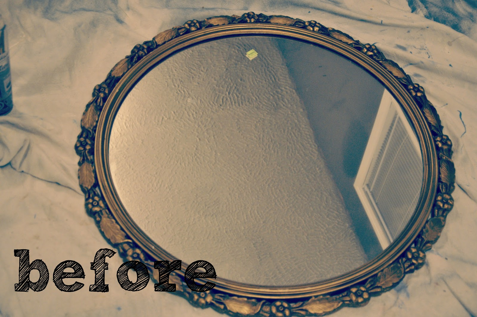 Antique Mirror Update This Little Estate