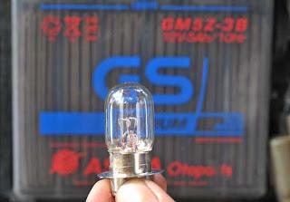Cara mengatasi lampu sepeda motor yang sering putus
