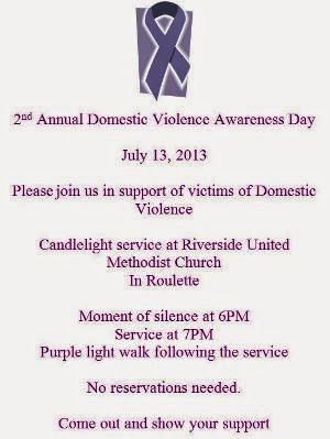 7-13 Domestic Violence Awareness