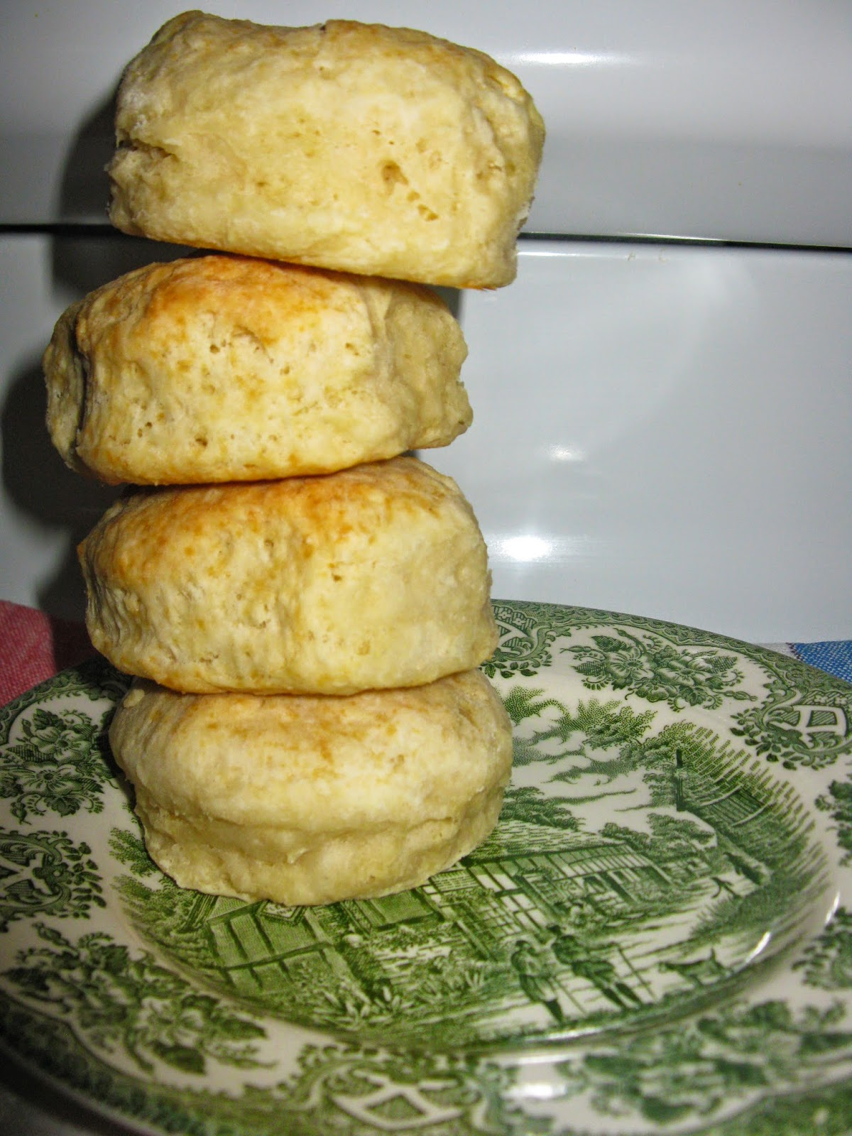 Thel's Kitchen: Old Fashioned Baking Powder Biscuits ~ Tea ...