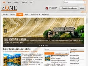 Zone - Free Wordpress Theme