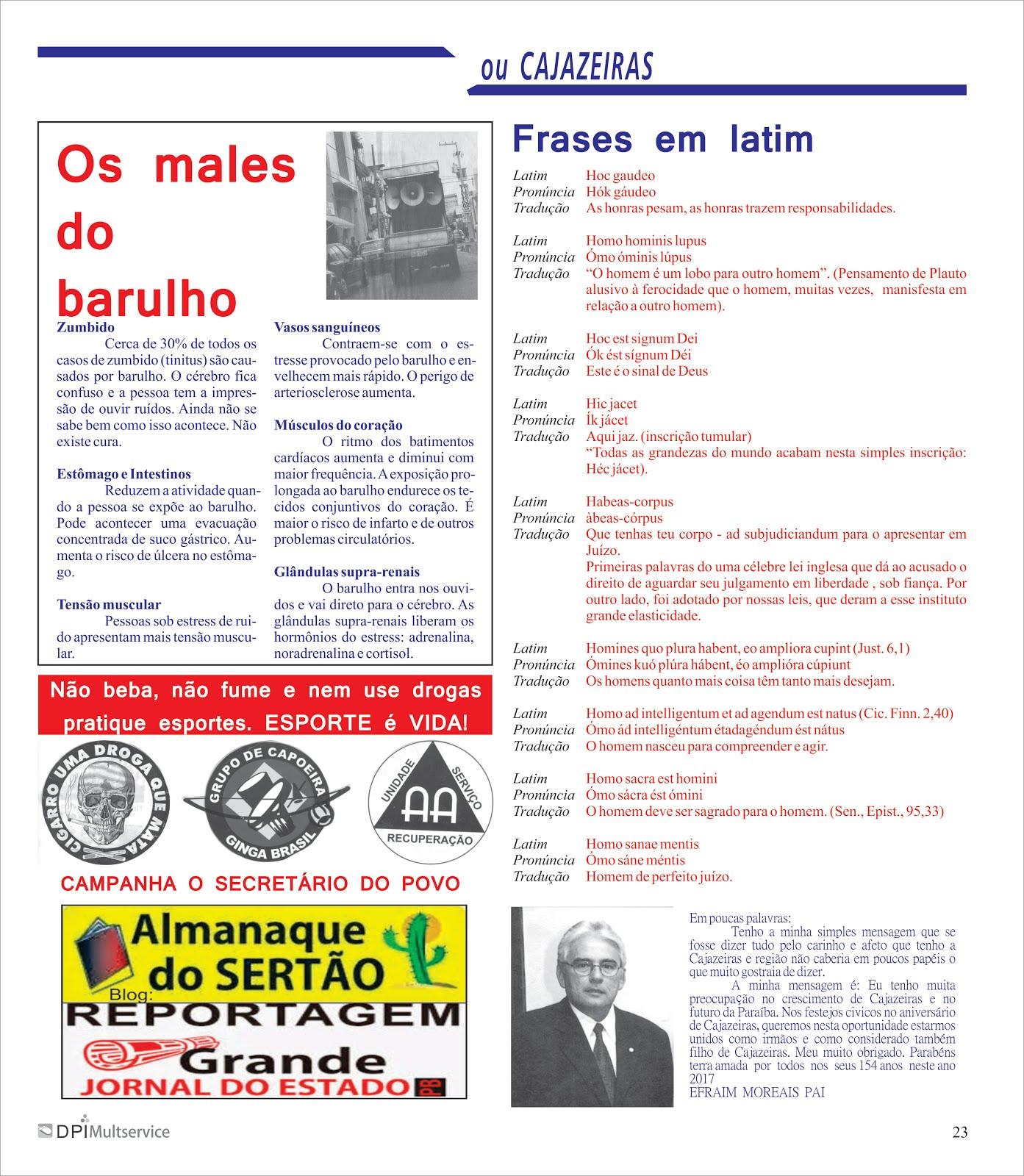 O JORNALISMO FAZENDO HISTÓRIA  NO DIA A DIA NAS CIDADES  E NO ESTADO