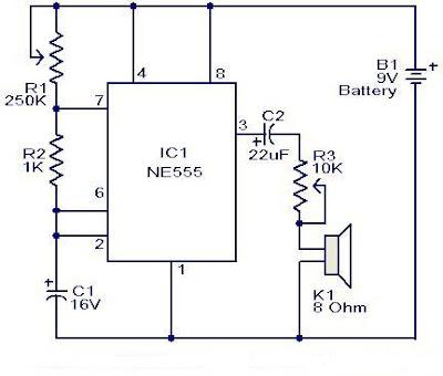 metronome generator circuit ic ne555 why how diagram rh diagramhow blogspot com