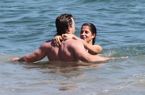 Billy Miller spotted with rumored girlfriend Kelly Monaco in Malibu beach