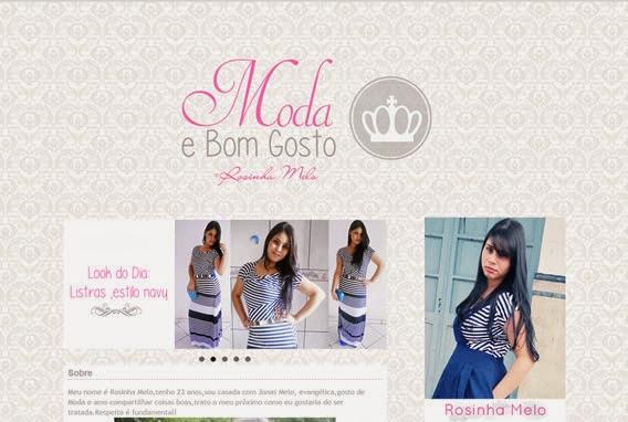 Blog Rosinha Melo Moda