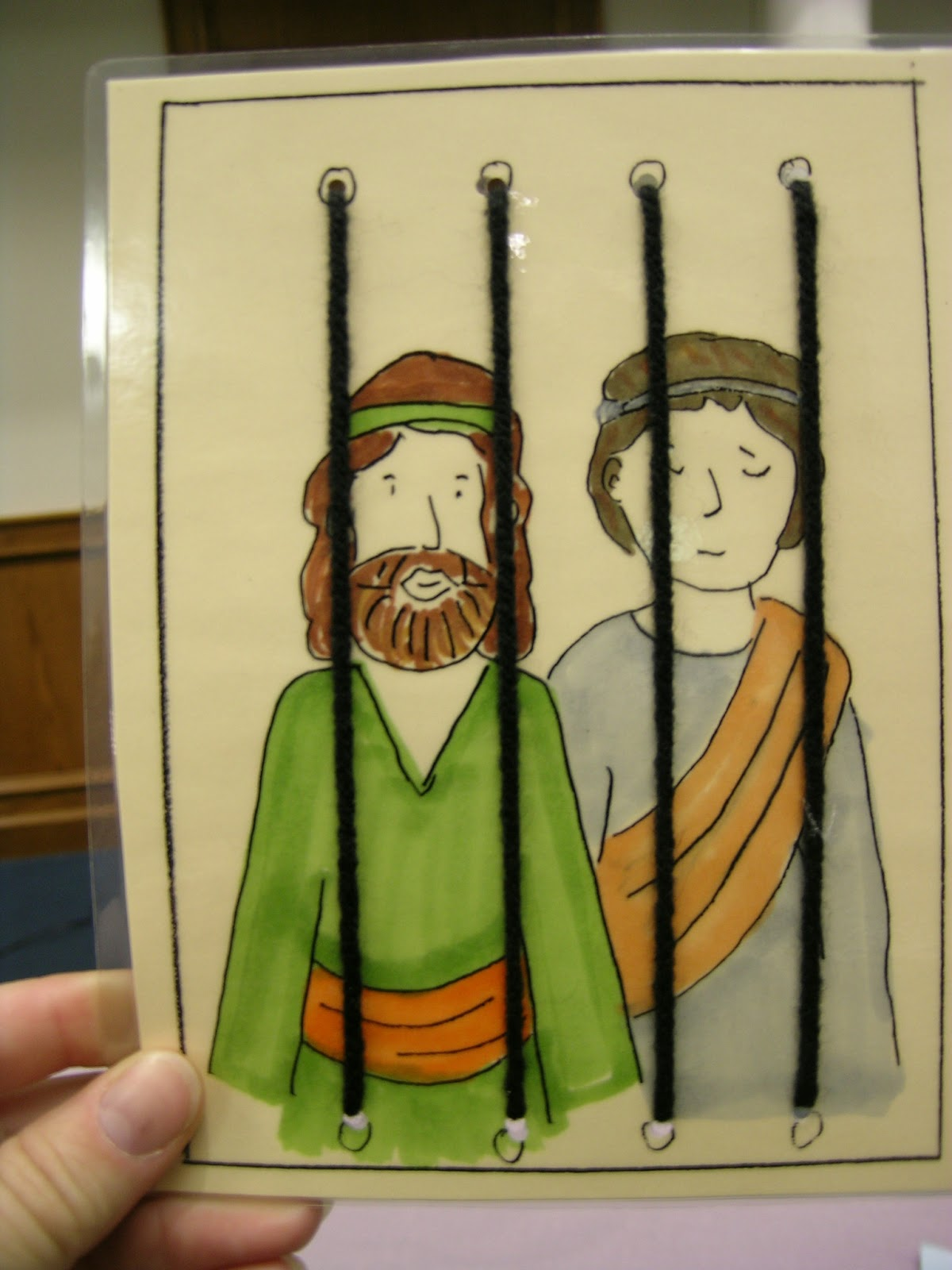 Bible Class Creations Paul And Silas In Prison