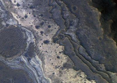 Formasi Silika di Mars diduga Jejak Mikroba Alien
