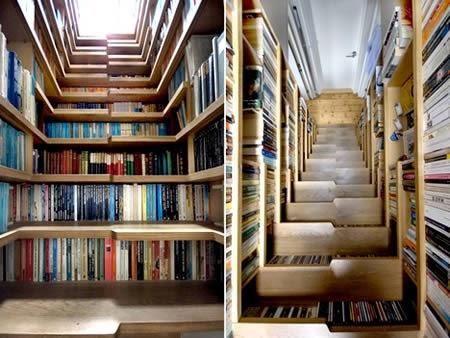 Ranger ses livres avec une pointe d'originalité en plus de l'efficacité