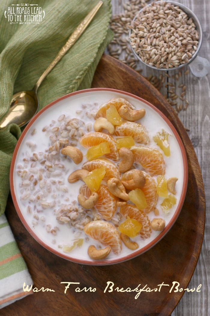 Warm Farro and Quinoa Breakfast Bowls #VillageHarvestInspired - All ...