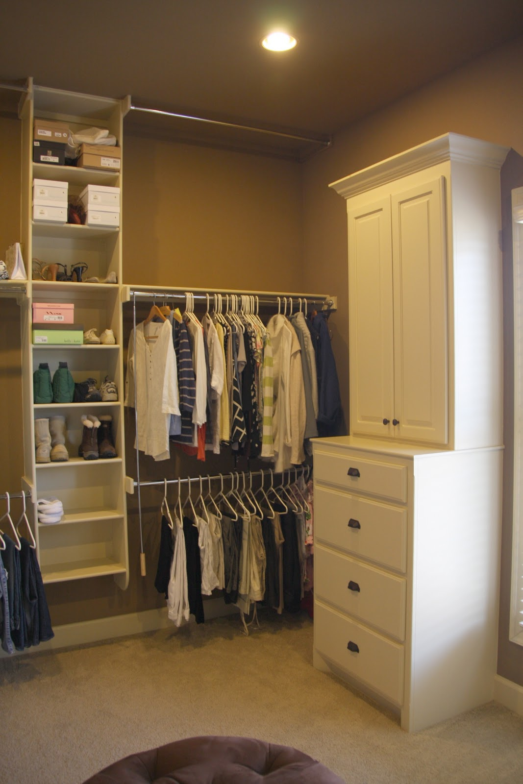 project winterize: mommy's closet