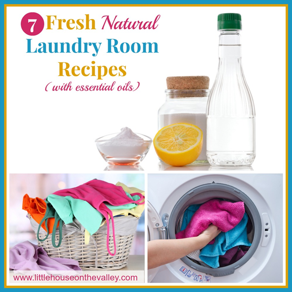 7 Fresh Natural Laundry Room Recipes