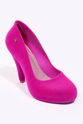 Vivienne Westwood Melissa shoe pink