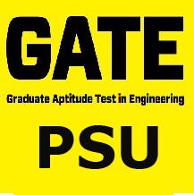 GATE-Public Sector Units