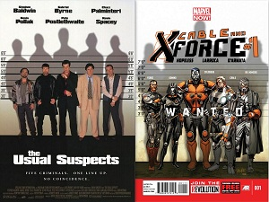 The Usual Suspects Cable and X-Force