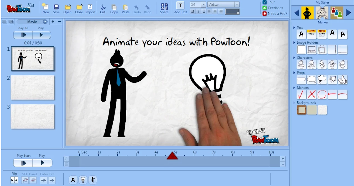 A Very Useful Tool to Create Educational Animated Videos on Google Drive