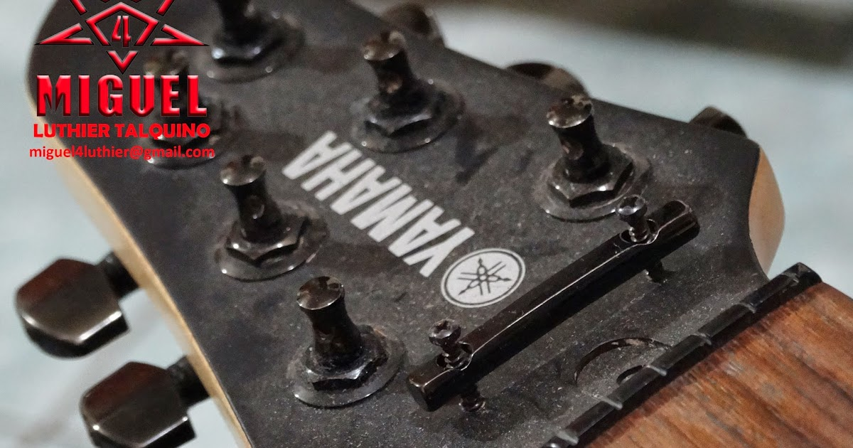 Luthier miguel4 talca guitarra electrica yamaha for Luthier guitarra electrica
