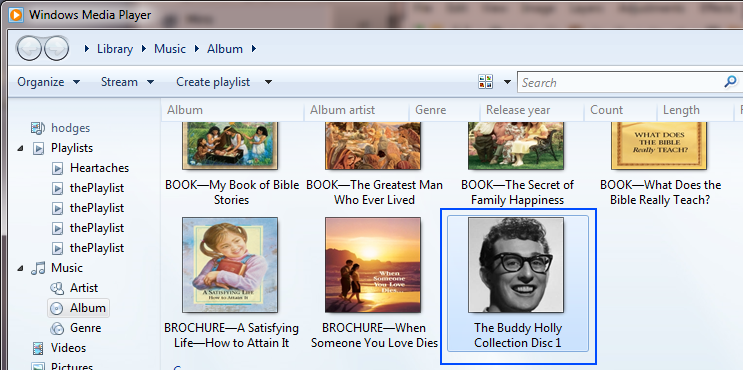 how to change picture on mp3s