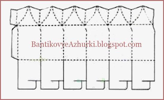 Упаковка своими руками с веревочками схема