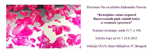 Izložba Aleksandre Vasović