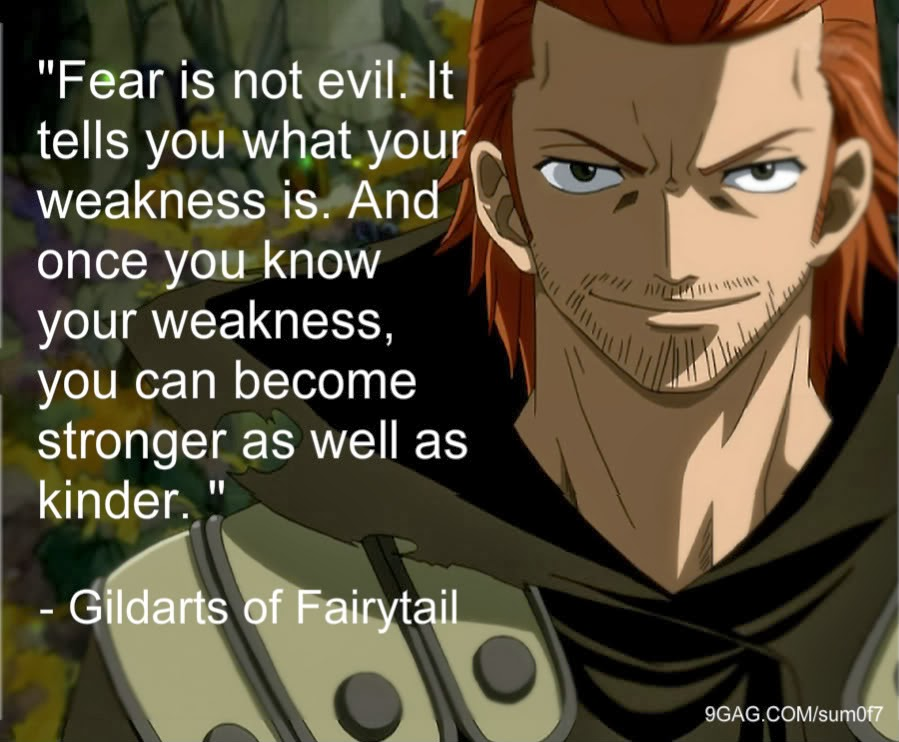 fairy tail quotes quarter of silence