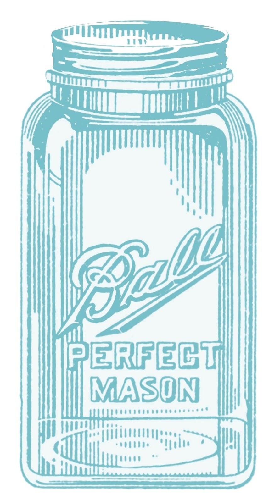 It's just an image of Playful Mason Jar Printable