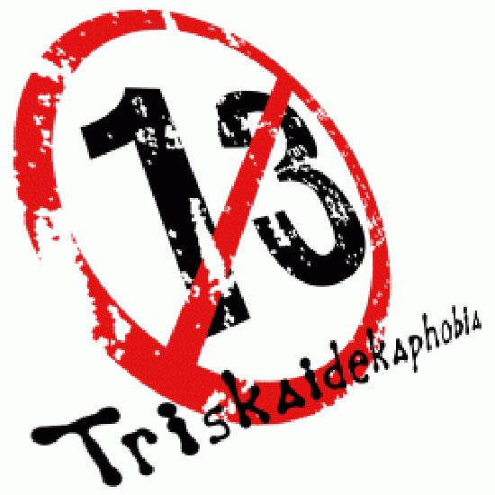 Fear of the Number 13 Triskaidekaphobia
