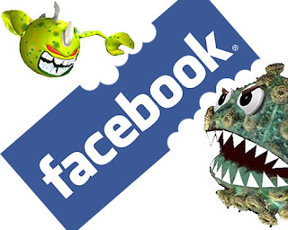 virus on Facebook profile