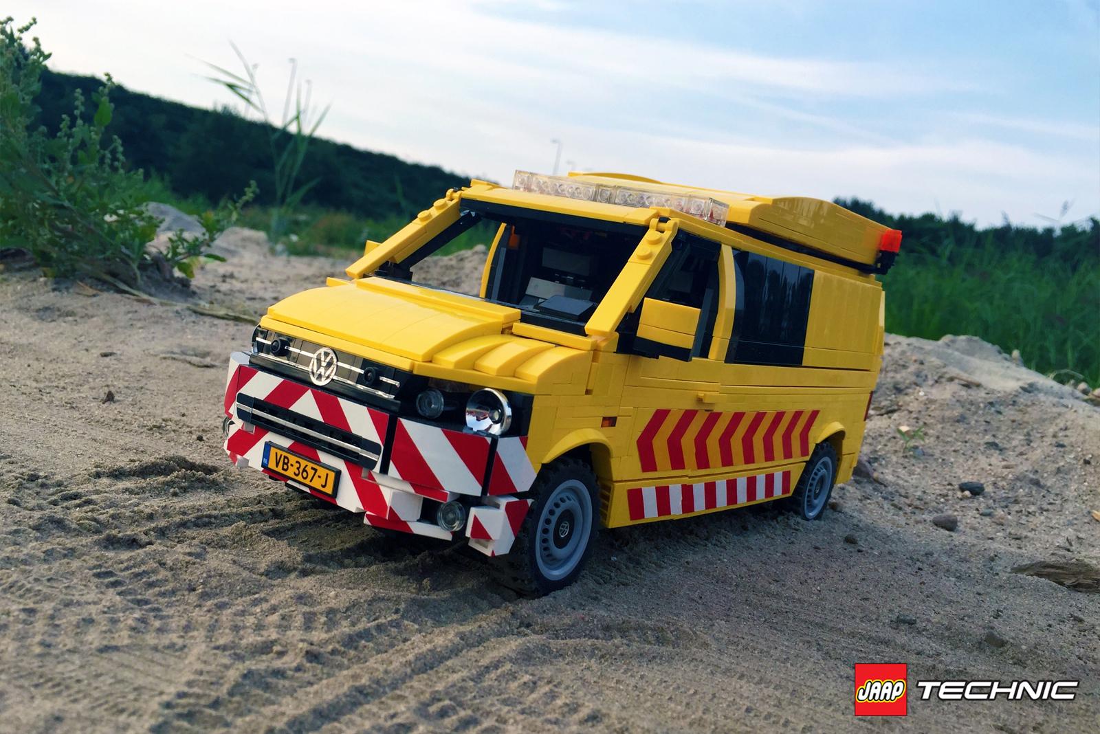 Volkswagen Transporter T5 Escort Vehicle Jaaptechnic