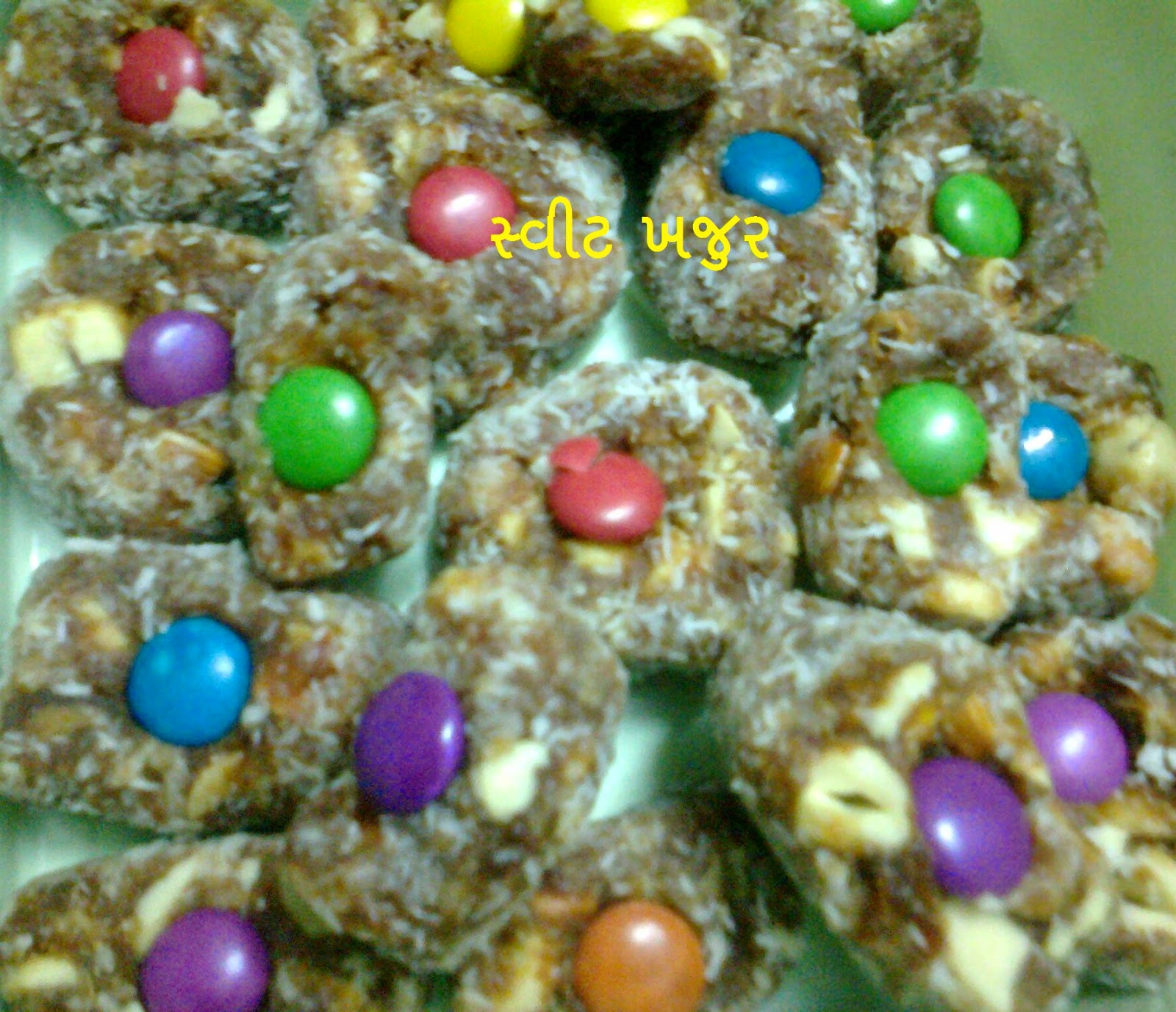 sweet khajur recipe