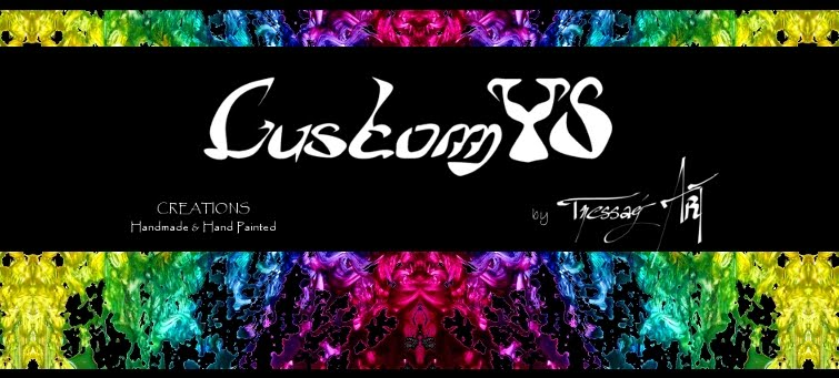 Custom'YS: Customisation chaussures, tee-shirts...