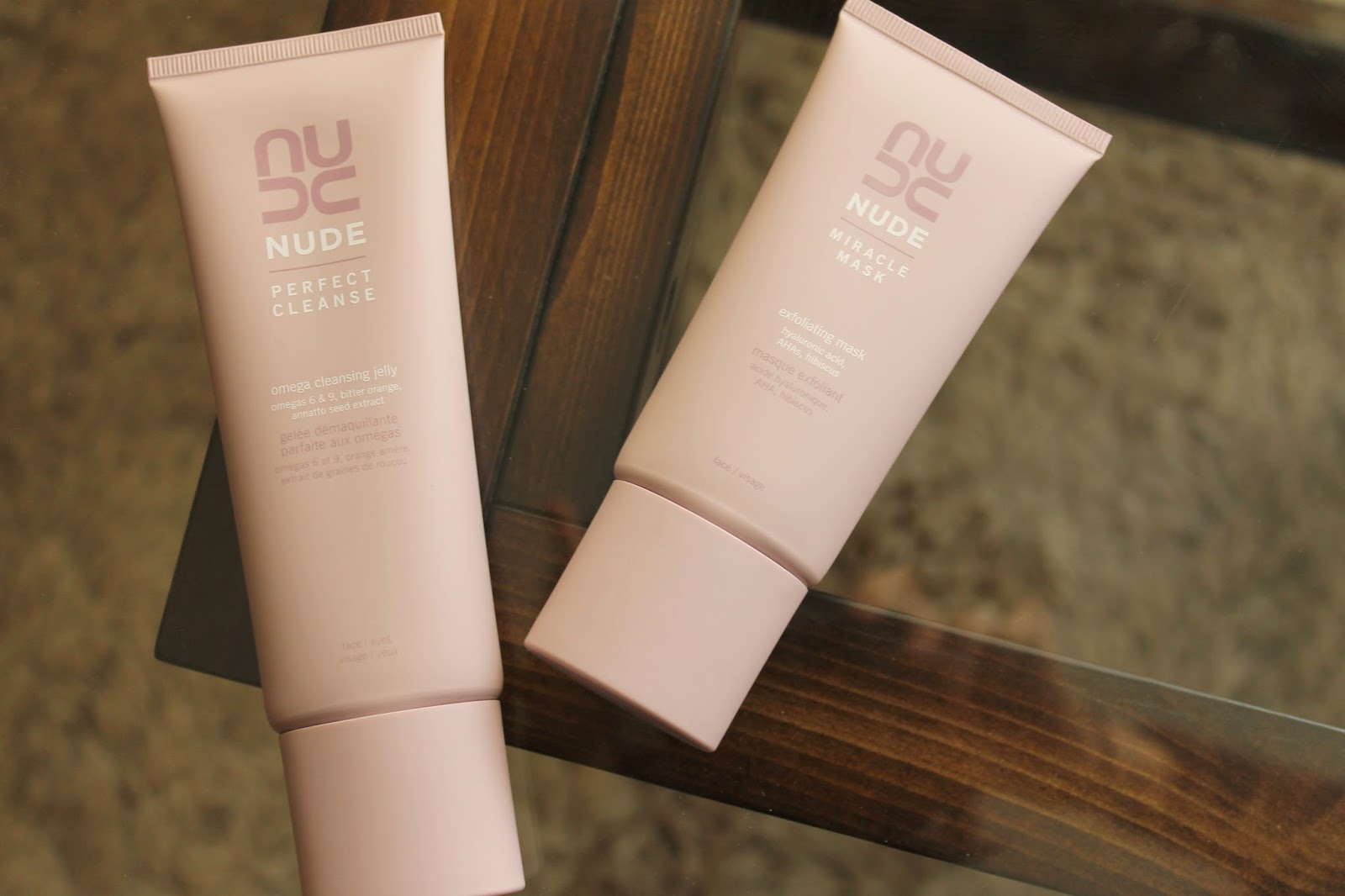 TWO STAR PRODUCTS FROM NUDE SKINCARE